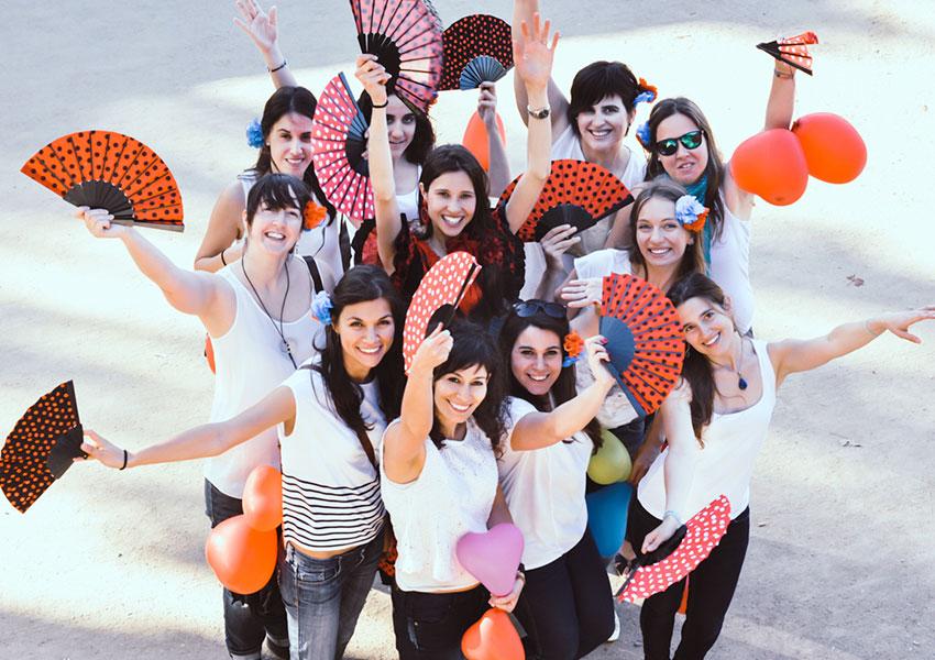 despedida flamenca en Granada